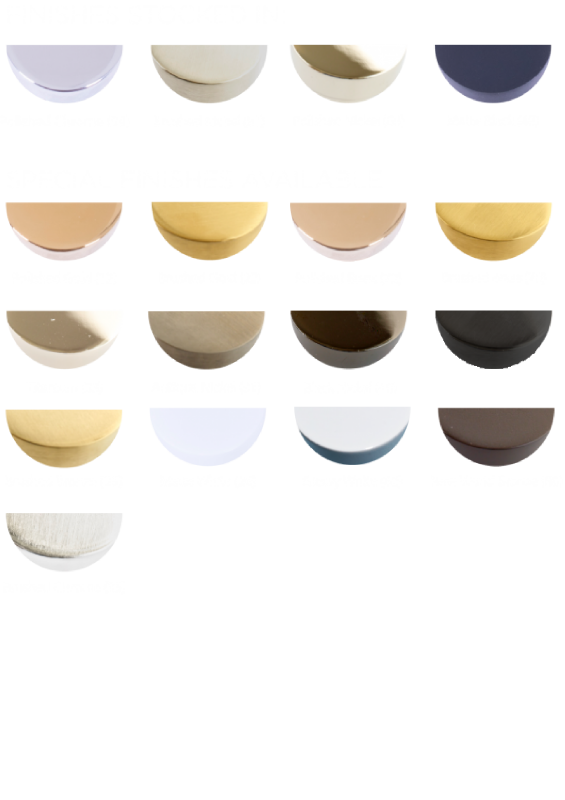 Available Finishes - Stock-99 81 68 48-SF except 55 69 21 75 65